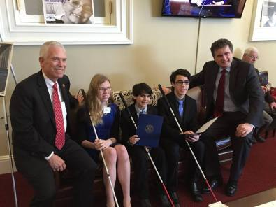 Congressman Bill Johnson (OH) Congressman Mike Fitzpatrick (PA) Kelly, Michael and Mitchell, CRB1 patients