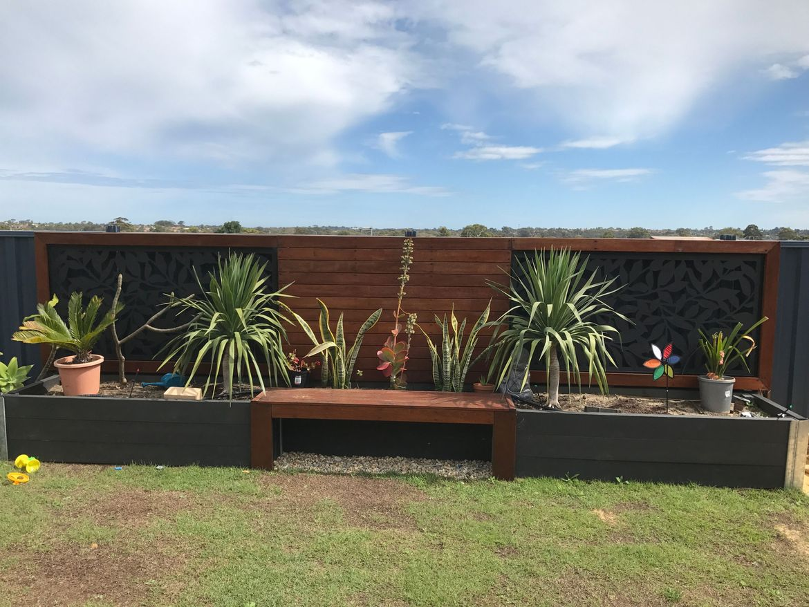 Bunnings Eco Deck Solved Backyard Transformation Before And Aft Workshop