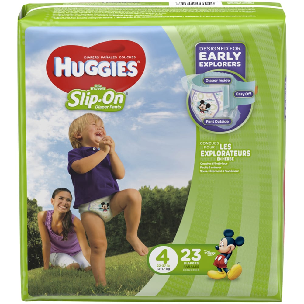 Couche Bébé Cash Smith S Food And Drug Huggies Slip On Little Movers Size 4 Jumbo