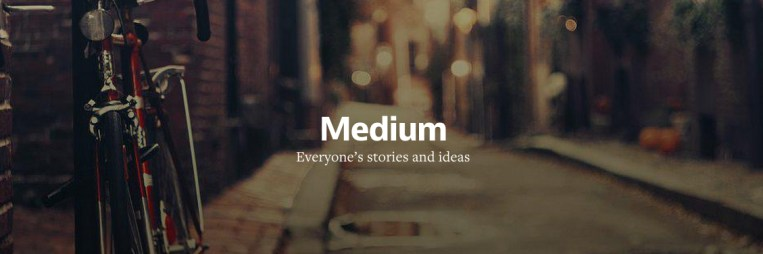Why I went to Medium