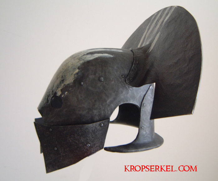 Lit Metal But Kropserkel: Orc Helmets And Masks