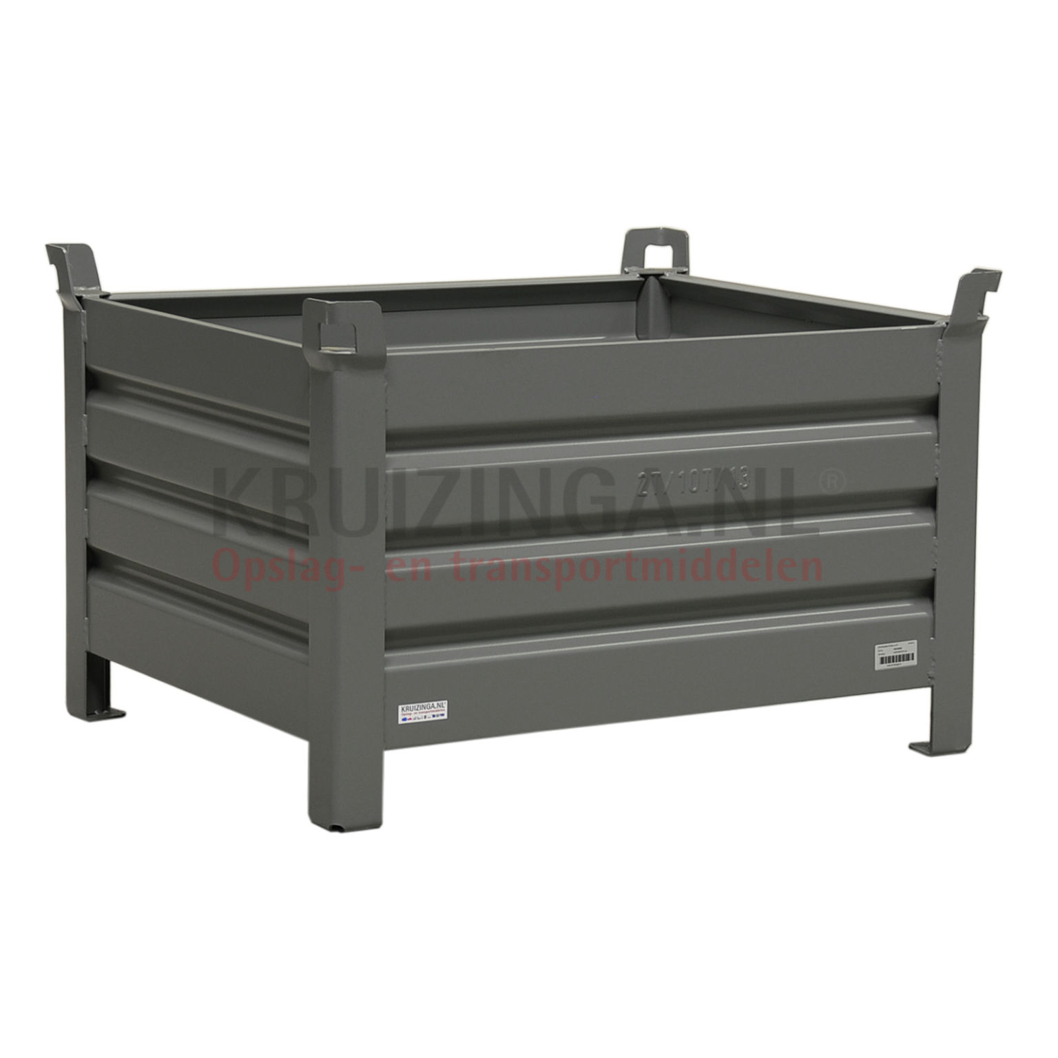 Muebles Rafael Bandera Vivar Juegos De Roc New Stacking Box Steel Fixed Construction Stacking Box 4 Sides 1021086s