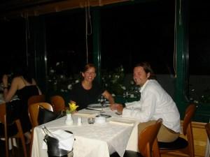 Dinner Overlooking Acropolis