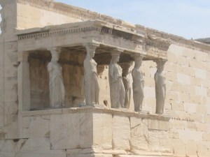Caryatids - Not the Originals