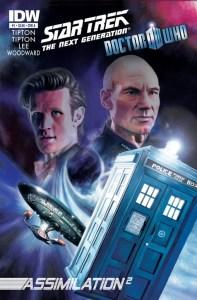 IDW Doctor Who / Star Trek Cover Art