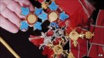 CBE, OBE and MBE medals to be awarded to the recipients.
