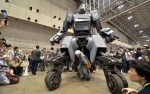 Kuratas robot debuted at Wonder Convention in Japan last week