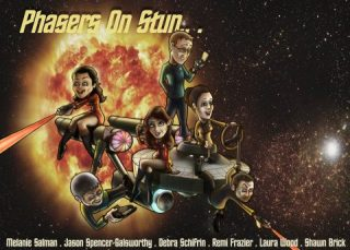 On The Event Horizon:  San Francisco's Improv Group 'Phasers On Stun!'