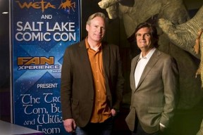 Dan Farr and Bryan Brandenburg, co-founders of Salt Lake Comic Con.