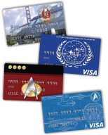 Four new Star Trek Platinum Advantage Rewards Credit Cards from NASA Federal Credit Union (PRNewsFoto/NASA Federal Credit Union)
