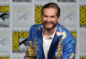 """SAN DIEGO, CA - JULY 11:  Executive producer/creator Bryan Fuller attends the """"Hannibal"""" Savor the Hunt panel during Comic-Con International 2015 at the San Diego Convention Center on July 11, 2015 in San Diego, California.  (Photo by Ethan Miller/Getty Images)"""