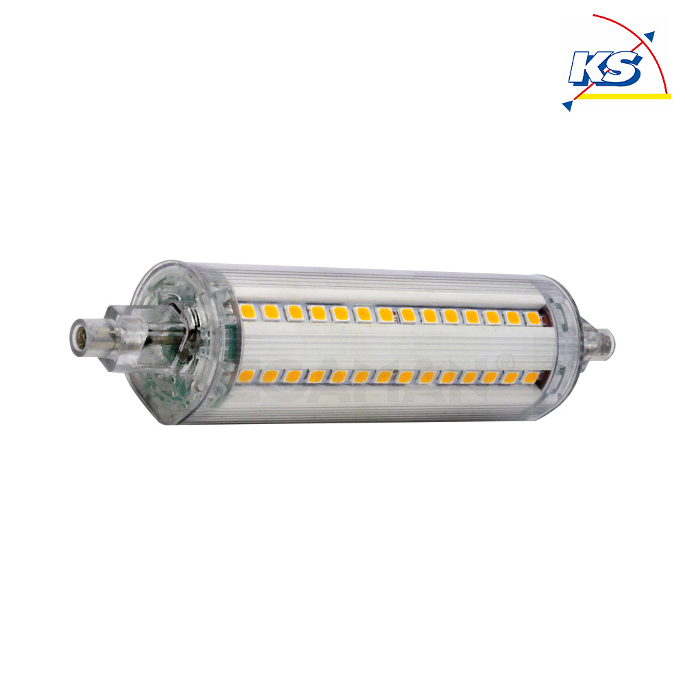Led R7s Dimmbar Led Stablampen-retrofit, R7s 118mm, 9w 4000k 810lm 330°, Dimmbar - Megaman