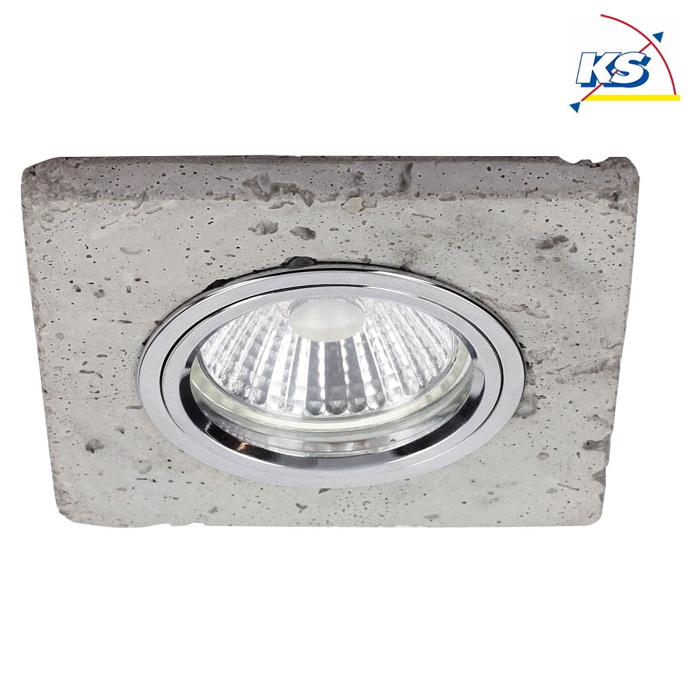 Ledsdream Led Deckenleuchte Beton Metall Spot Light