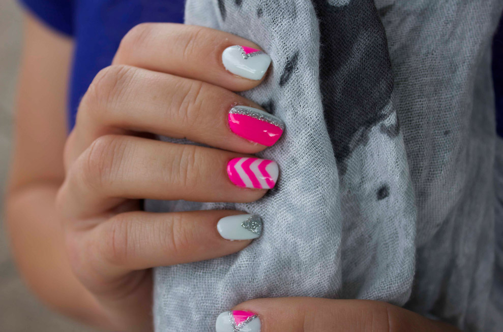 Festival Nail Art Dance The Summer Away With These Bright