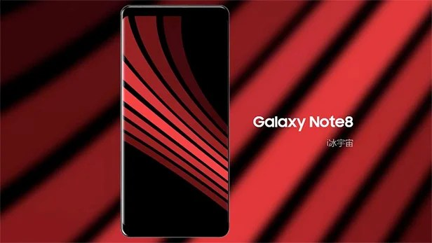 Trending Wallpapers For Iphone X This Galaxy Note 8 Render Is Probably Fake But Does It