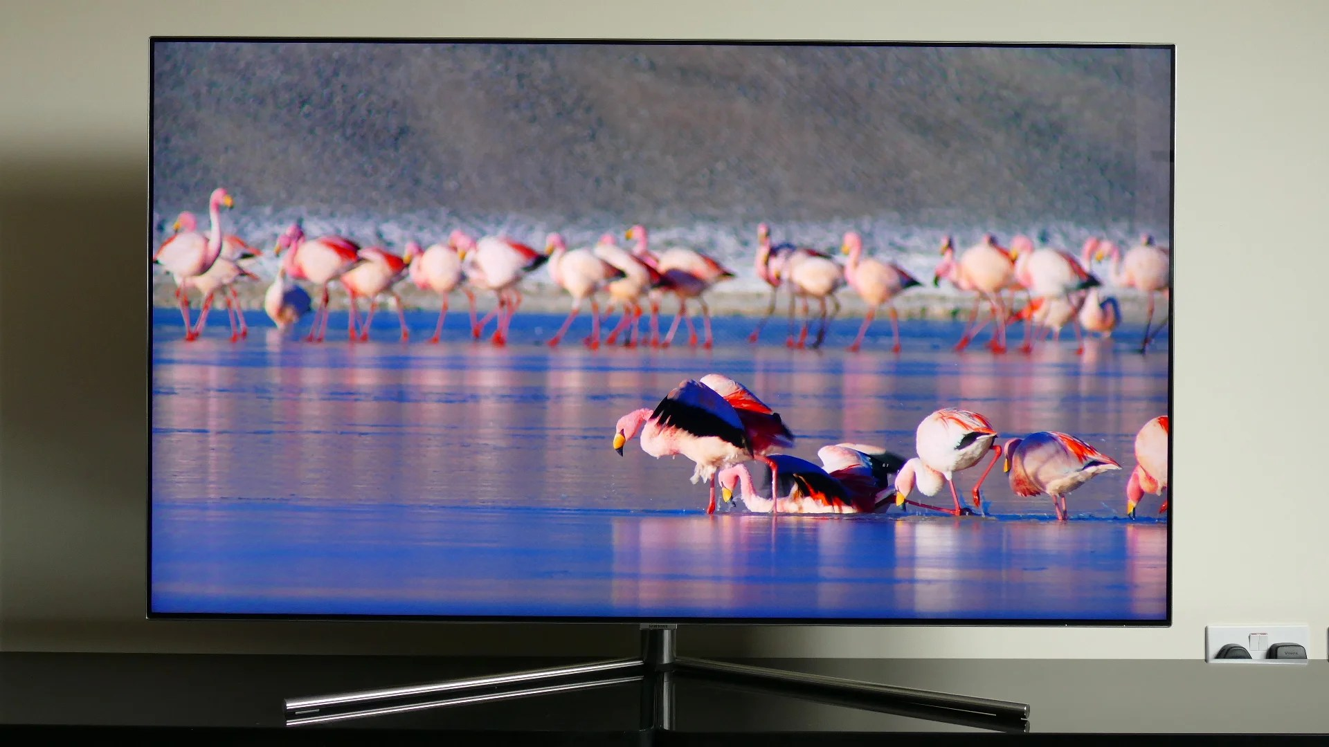 Samsung Flat Screen Tv Price Samsung Qe55q7f Review Trusted Reviews