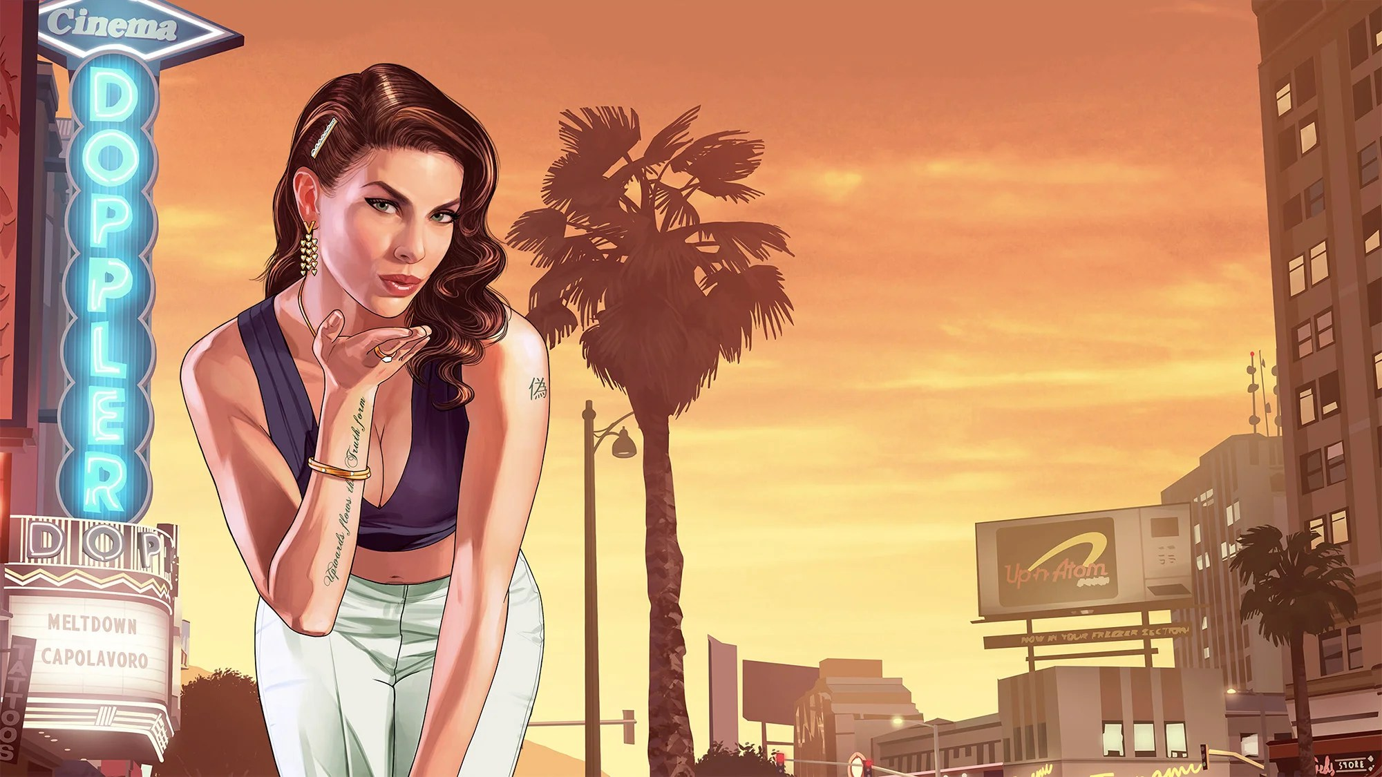 Smart Girl Hd Wallpaper This Grand Theft Auto 6 Leak Could Be First Proof Of Game