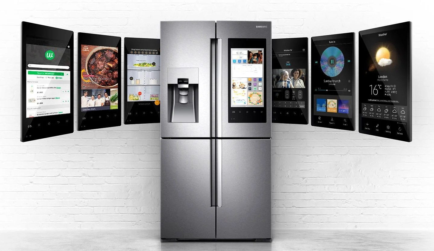 Kitchen Design Software For Pc Samsung's Smart Fridge Wants To Control Your Connected