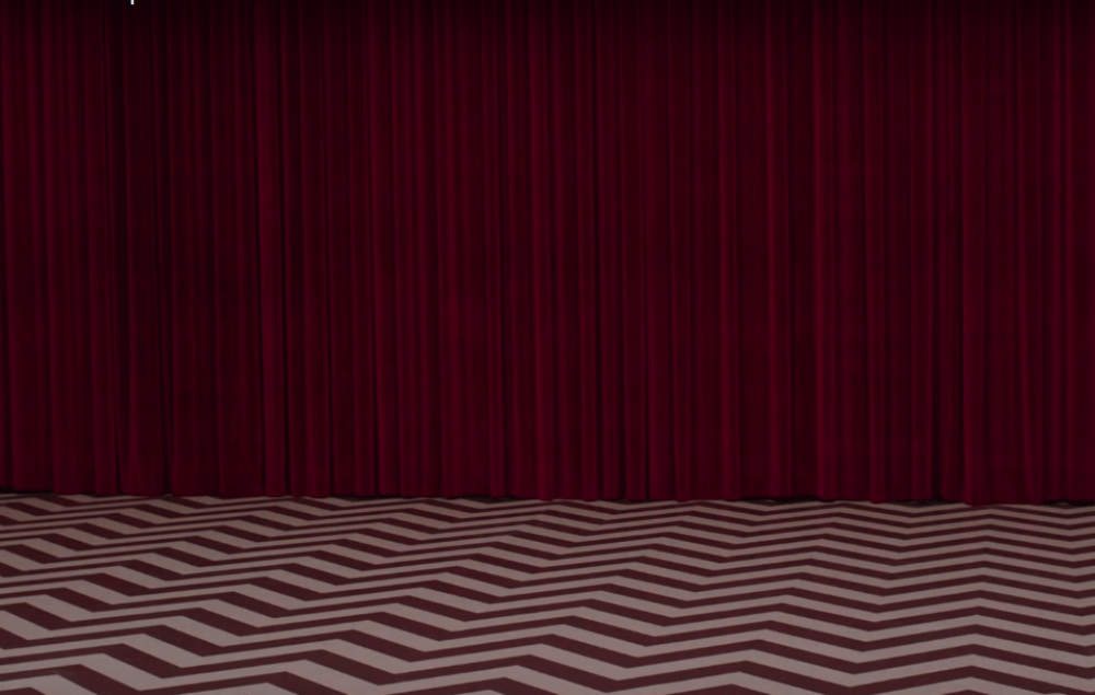 Still Life 3d Wallpaper Twin Peaks Red Room Brought To Life In New Street Art