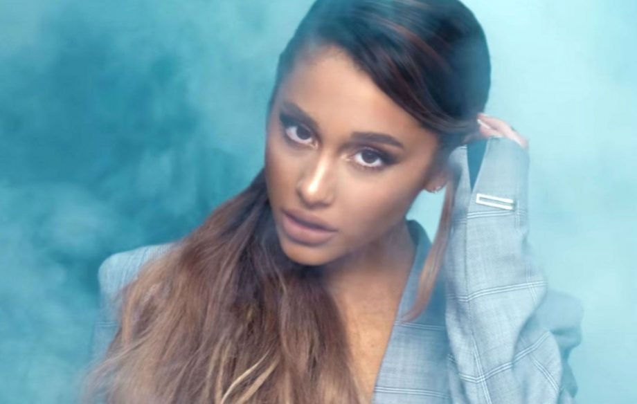Stranger Things Wallpaper Cute Ariana Grande Is Godlike In New Breathin Video Nme