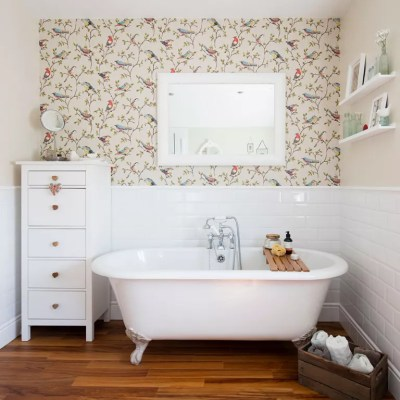 Bathroom wallpaper ideas – Waterproof bathroom walllpaper ideas