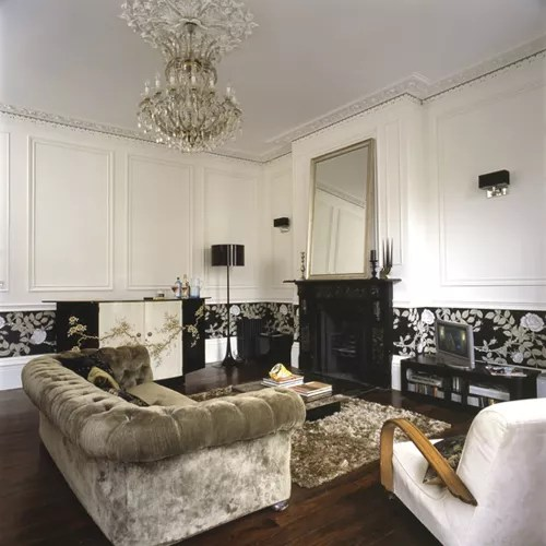 Gold ten ideas to decorate your house Ideal Home - black white and gold living room ideas