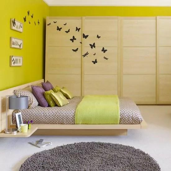 Baby Girl Nursery Wallpaper Uk Sliding Wardrobe Door Ideas Decorating Ideal Home
