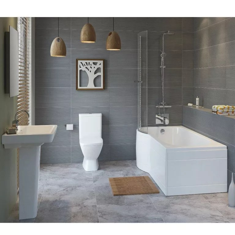 Bath With Shower Shower Baths 10 Brilliant Buys Ideal Home