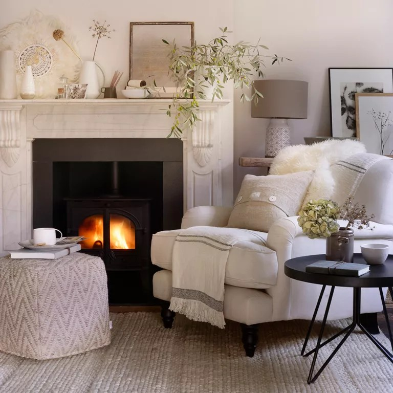 Living Room Ideas White White Living Room Ideas | Ideal Home