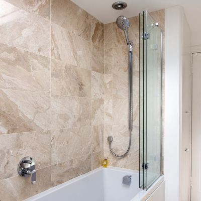 Bath shower screens – our pick of the best | Ideal Home
