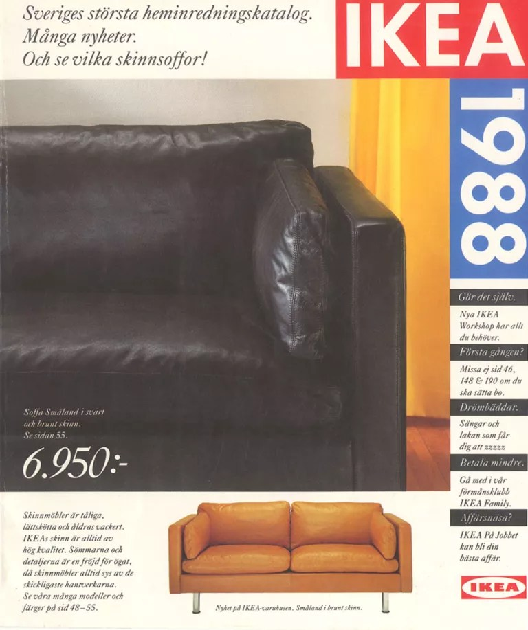 Ikea Sofa 2005 It S Ikea S 30th Birthday Celebrating 30 Years Since It Launched