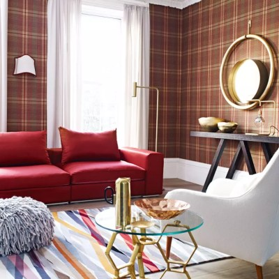 Tartan decorating ideas | Ideal Home