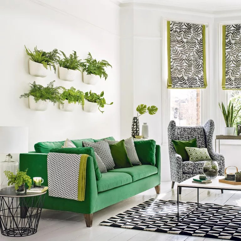 Green Living Green Living Room Ideas For Soothing Sophisticated Spaces