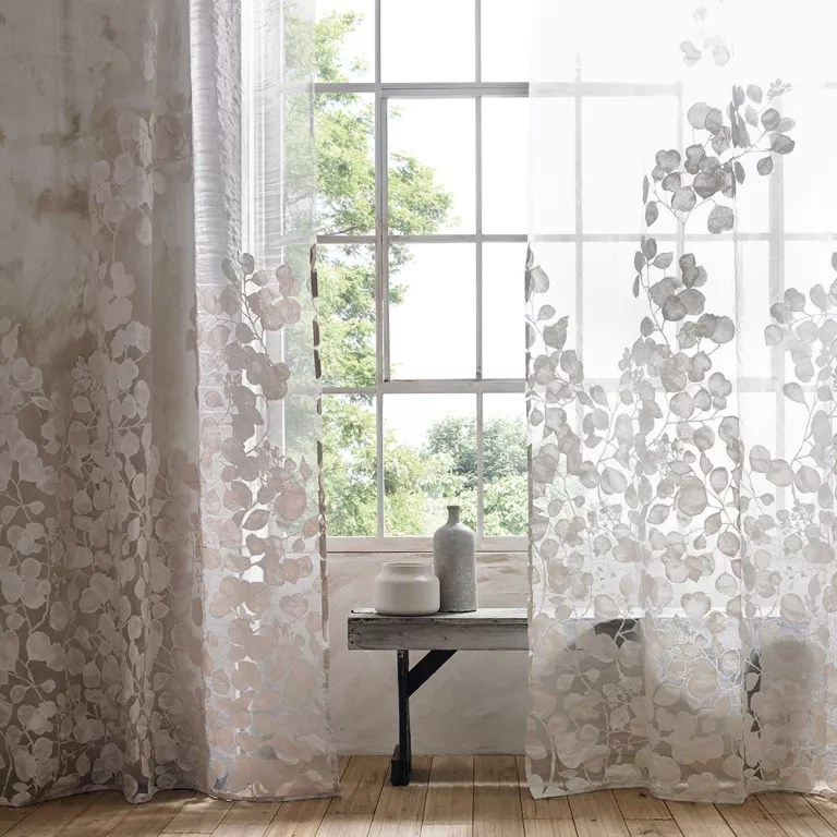 Curtain Ideas Voile Curtain Ideas Sensational Sheers For Summer Windows