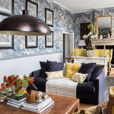 Living room wallpaper – Wallpaper for living room – Grey wallpaper