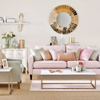Pink living room ideas  Pink living rooms  Pink ...