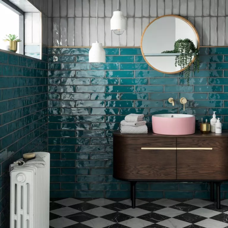 Topps Tiles Names This Rich Teal Design As Tile Of The Year 2019