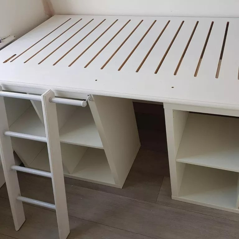 Ikea Wardrobe Tidy This Diy Ikea Bed With Storage Is Genius For Small Bedrooms
