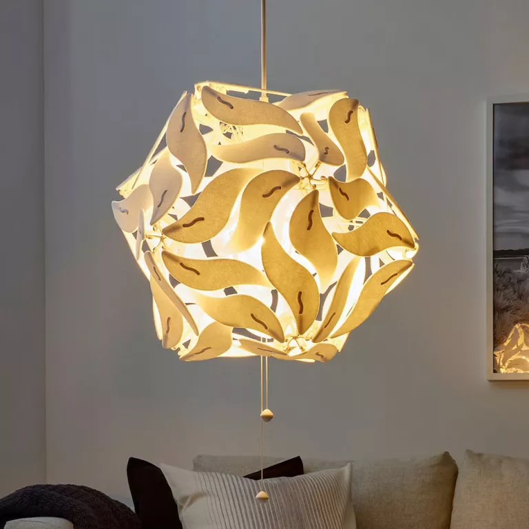 The Ikea Ramsele Pendant Lights That Change Shape As You Pull The Cord
