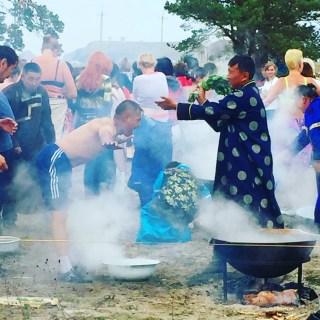 Baikalsee Schamanen Ritual