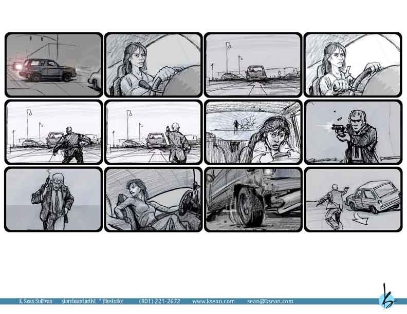 K Sean Sullivan Art Blog » Storyboarding