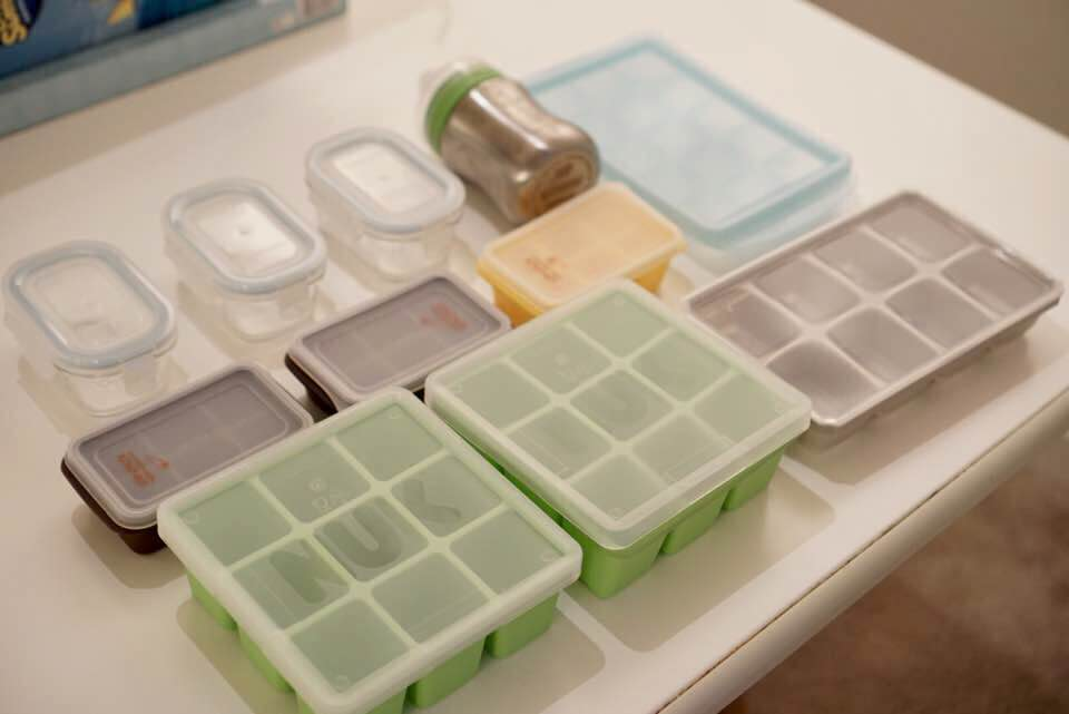 Baby Food Freezer Tray Storage Bag. SaveEnlarge & Baby Food Storage Containers Target - Listitdallas