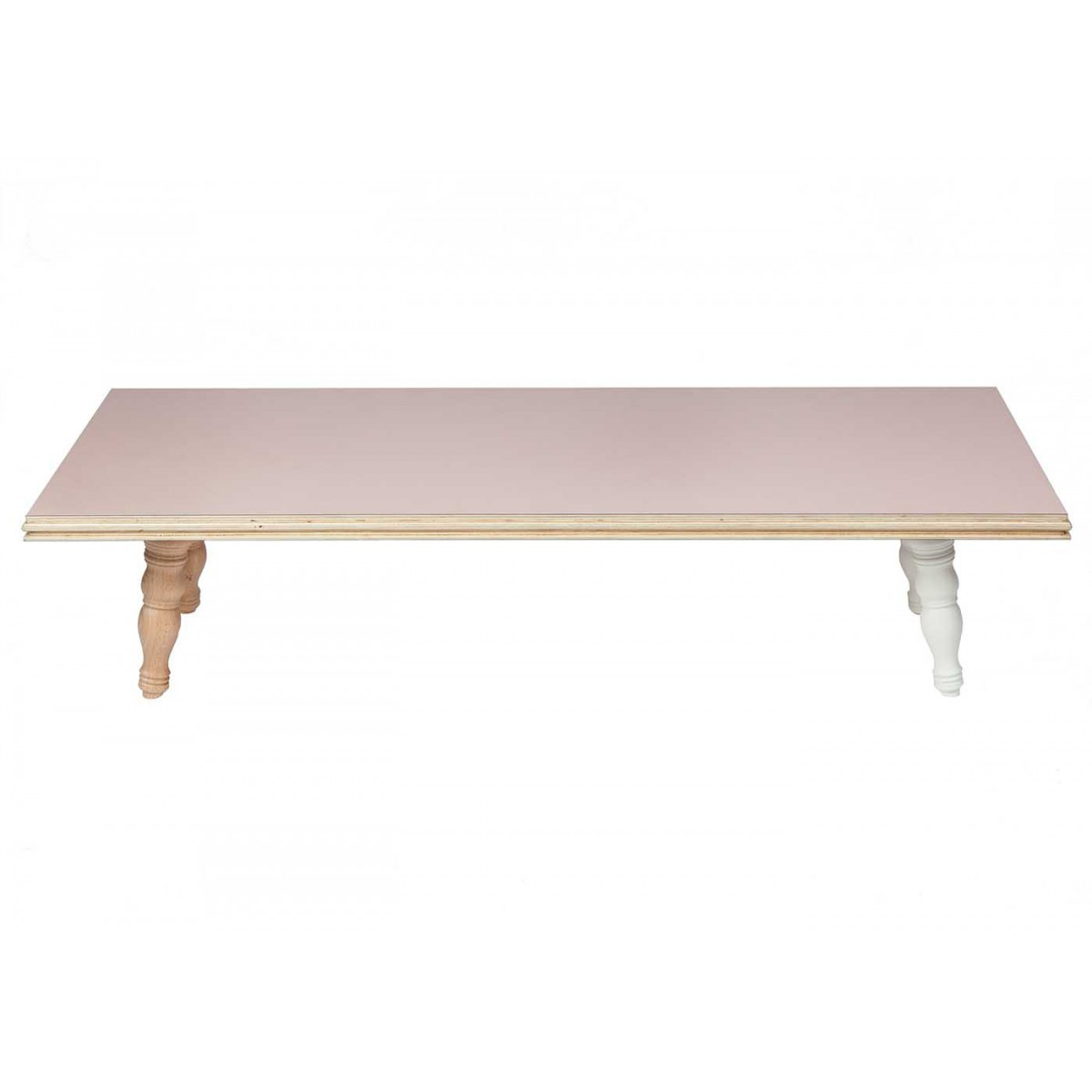 Table De Salon Bois Clair Table Basse En Bois Clair Design Scandinave Flower Par Blomkal