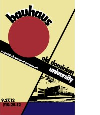Bauhaus Poster | Fundamentals of Digital Art
