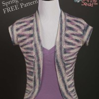 Spring Cardi FREE Crochet Pattern | KT and the Squid