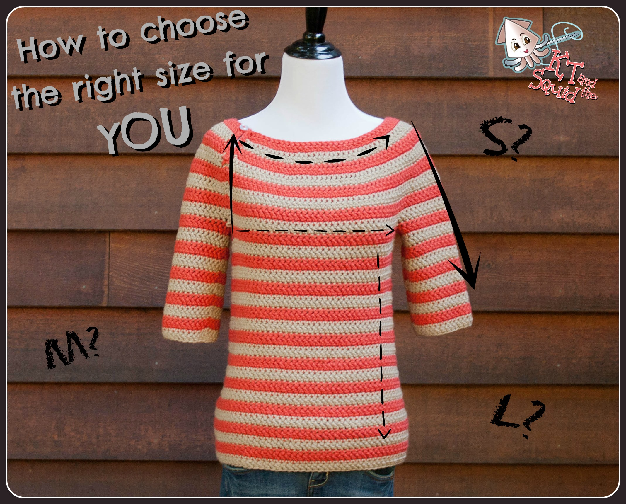 Crocheting/Knitting a Sweater: How to Choose the the Right ...