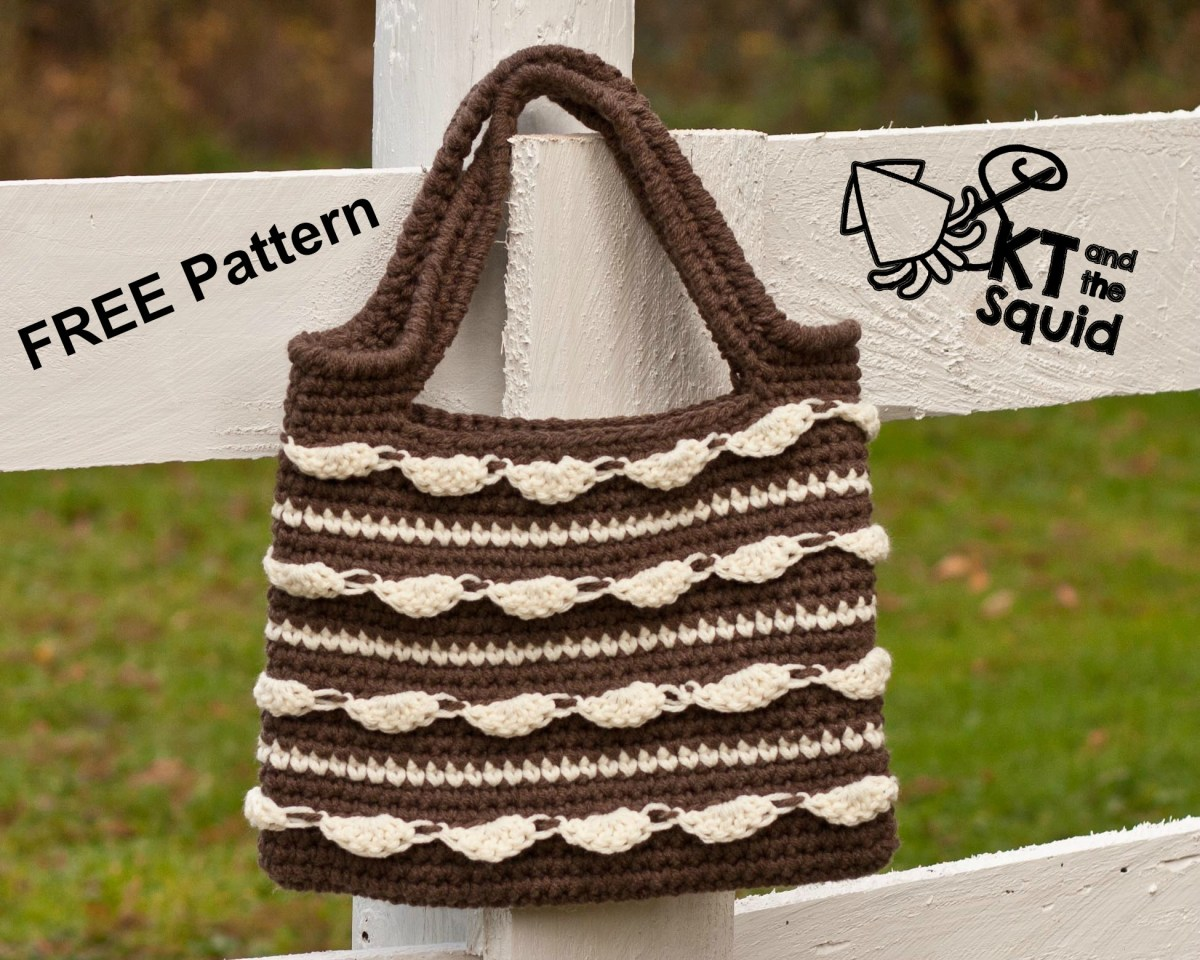 Cloud Dance Tote: Free Crochet Pattern | KT and the Squid