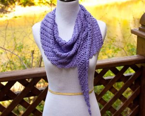 Main St. Shawl Free crochet pattern