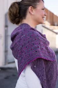 © Barbara Benson The Peephole Stole by Barbara Benson (knit)