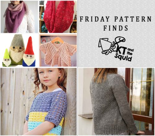 Friday Pattern Finds 4/15/16   KT and the Squid
